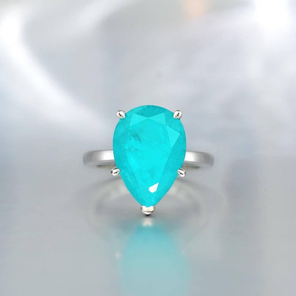 HBP moda jóias de luxo 2021 novo anel palaiba