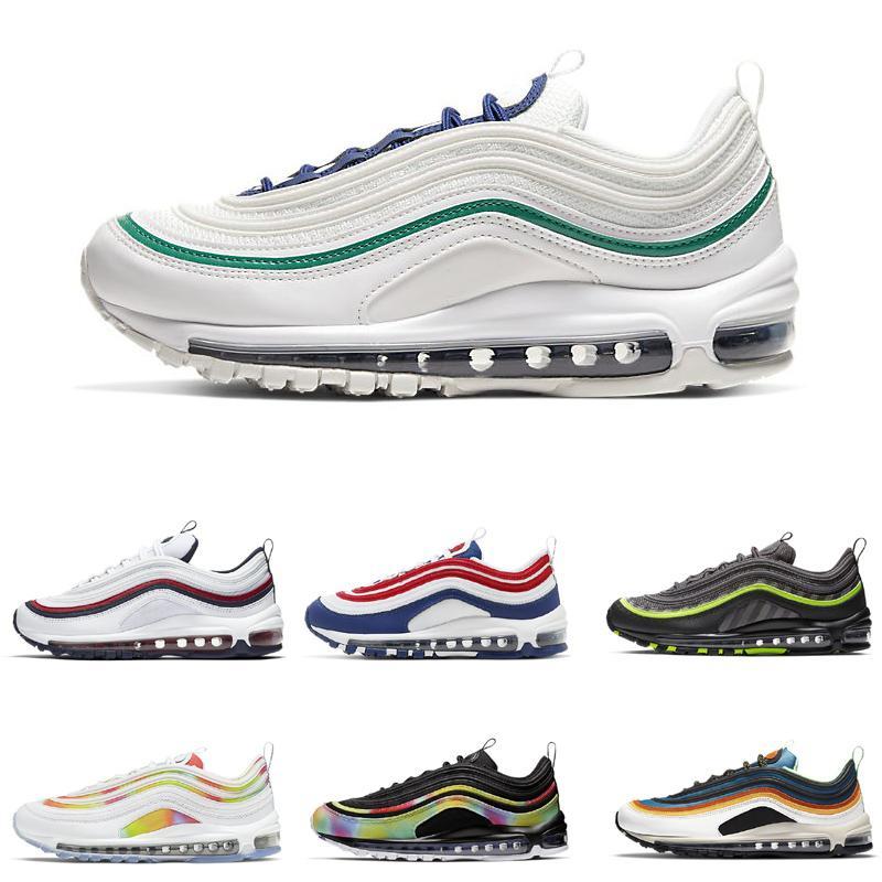 Sliver balas cone branco amostra ouro seie tie tintura EUA sapatos para homens mulheres correndo sneaker sneaker tamanho US36-45