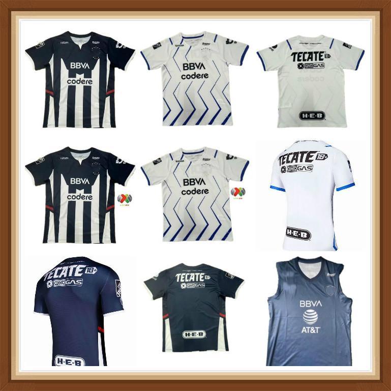 2021 2022 Rayados Monterrey Futebol Jerseys Home 3Rd R.funes Mori M.Meza 21 22 Futebol Adulto Mulheres Camisa Kids 3xl