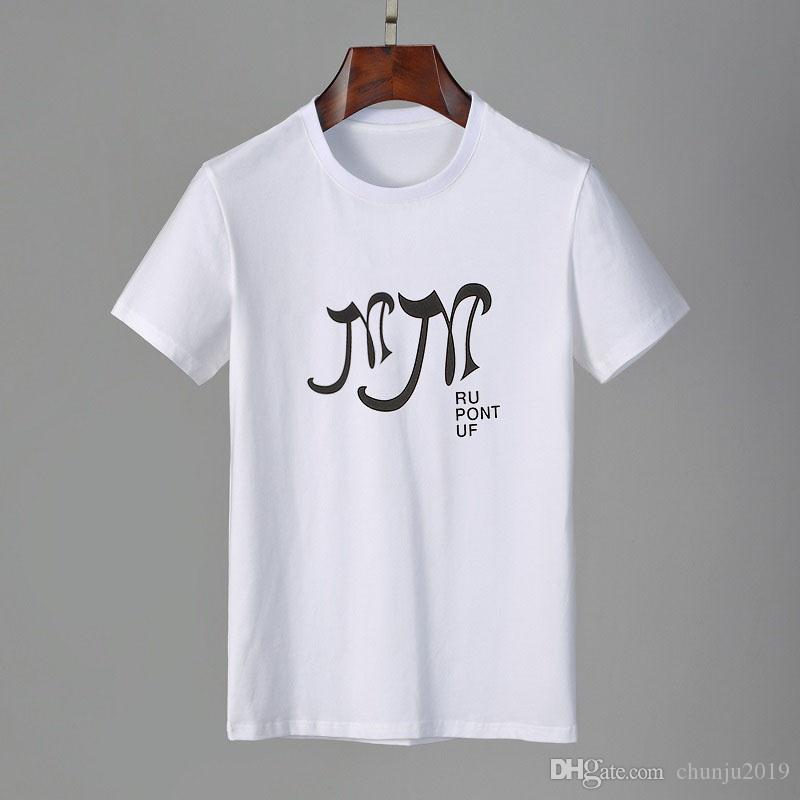 2011ss Erkek Stylist Tshirt Arkadaş Erkek Kadın T Gömlek Yüksek Kalite Siyah Beyaz Turuncu T Gömlek Tees Mens T Gömlek