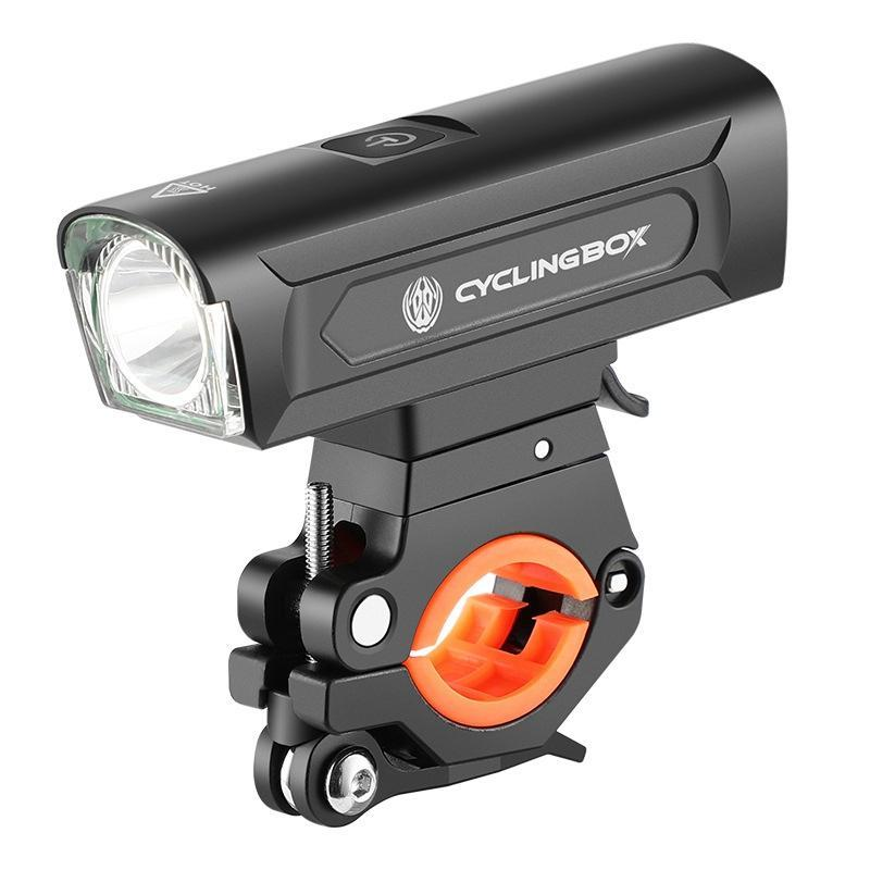 Bike Lights CYCLING BOX Front Light 1300LM Bicycle USB Rechargeable MTB Headlight