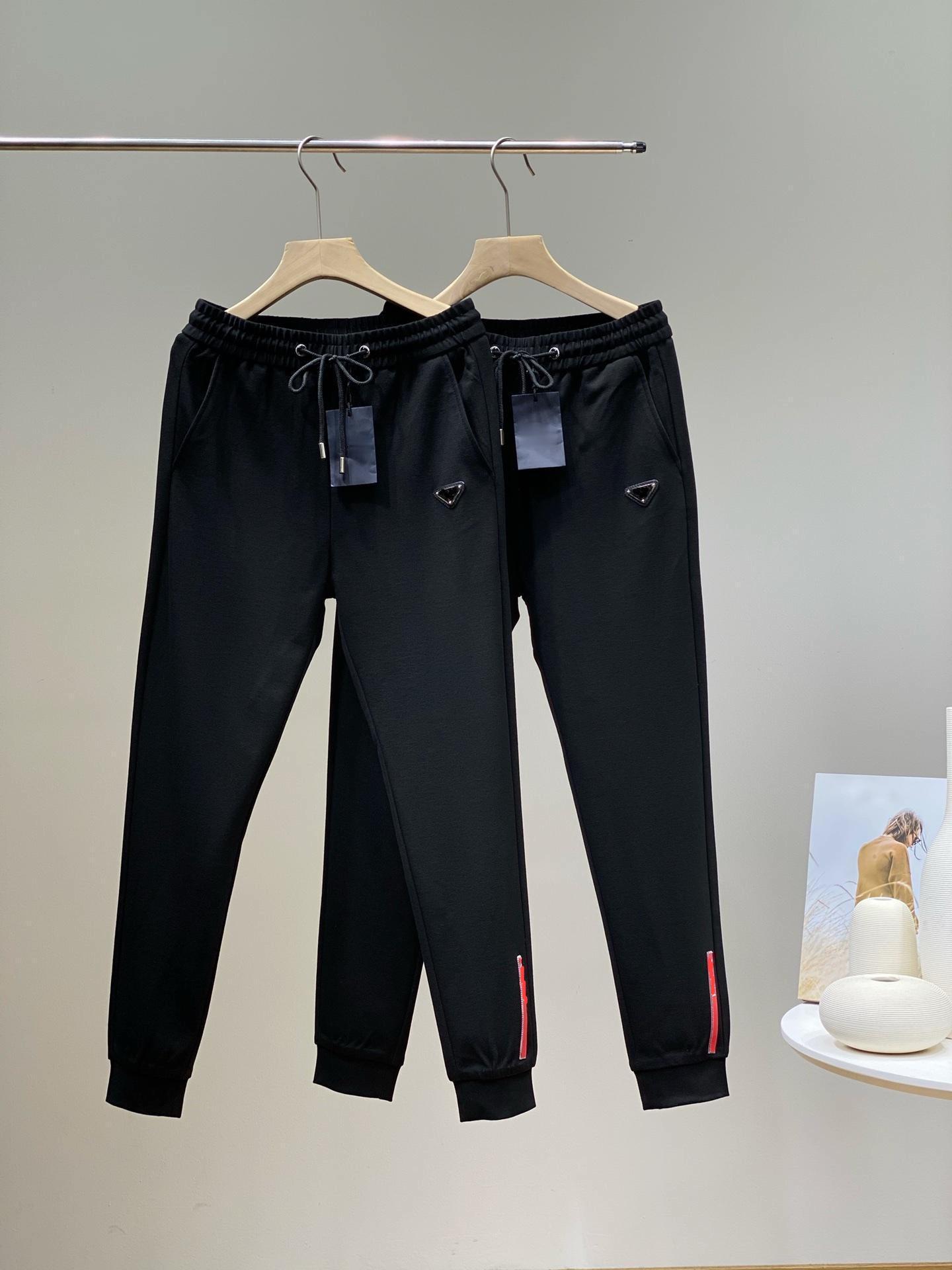 2021 Yeni Erkek Pantolon Rahat Moda Gevşek Ve Konforlu Güzel İşçilik İyi Şekli Tüm Maç Pantolonları Her Mevsimde Aşınabilir