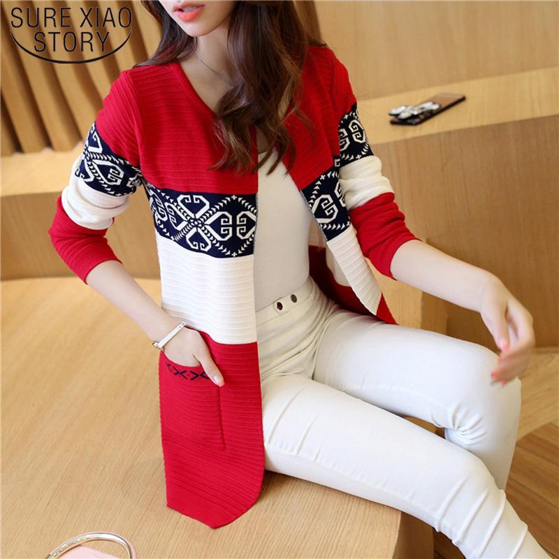 2021 весенний длинный Kashmir Herfst Жилет Брайен Trui Розовый Черный Печата Зимняя Мода Стройные Женщины 7479