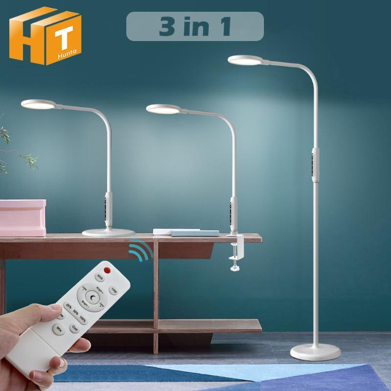 Светодиодная напольная лампа с дистанционным внутренним регулируемым постоянным лампой.