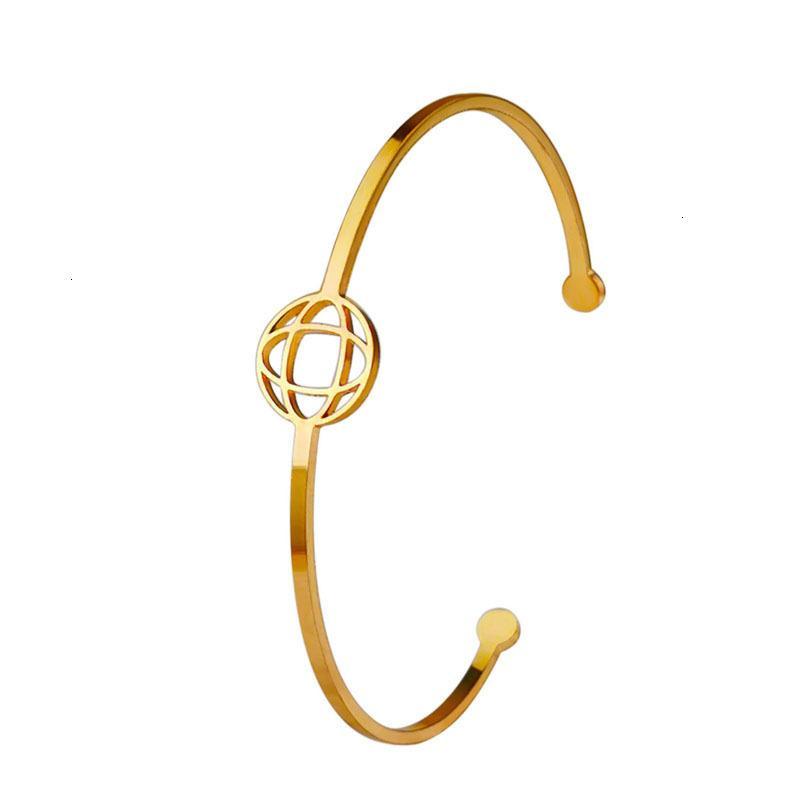 Горячие продажи Корейский модный темперамент Универсальный круглый открытие розовые золотые пары браслет часы аксессуары YHL3
