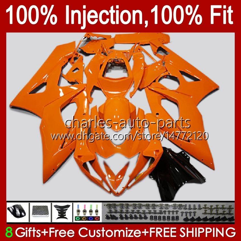 Kropp + Cowl för Suzuki GSXR-1000 GSXR 1000 05 06 Bodywork Light Green Hot 11HC.48 GSX-R1000 GSXR1000 05 06 K5 GSX R1000 2005 2006 Fairing Kit