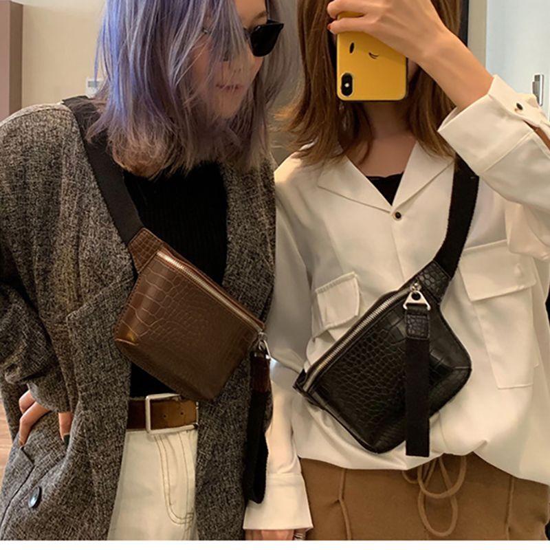 Quality crocodile pattern crossbody bag pu leather satchel fashion carry-on one shoulder messenger bag multicolor ladies wallet C0315