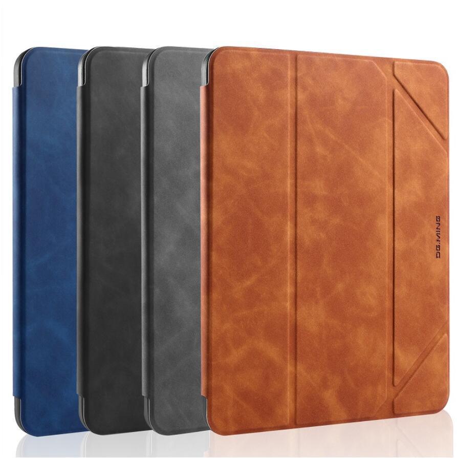 DG.Ming Pelle Magnetic Protective Tablet Holder Soft TPU Cover Cases per iPad Mini 4 5 Pro 9.7 10.2 Pro10.5 11