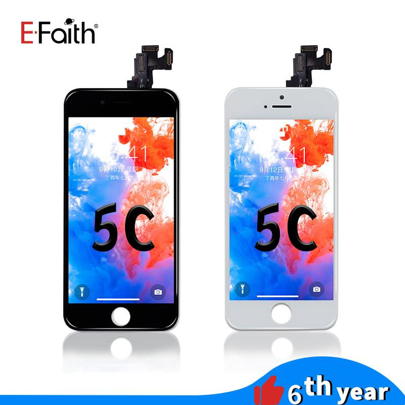 EFaith High Quality Full set LCD For iPhone 5G/5S/5C/SE Display Touch Panels Digitizer Assembly Repair Replacements With Home button