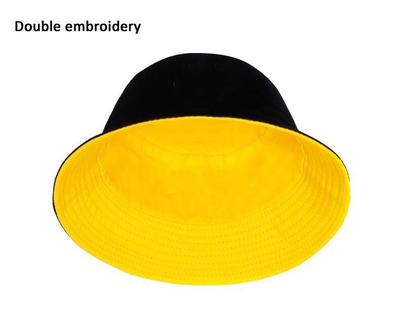 Four Seasons Double-Sided Wearable Fisherman Hat Fashion Mens Womens Trend Secchio Cappello Cappello Lettera Cappello Cappello di alta qualità Accessori Fornitura