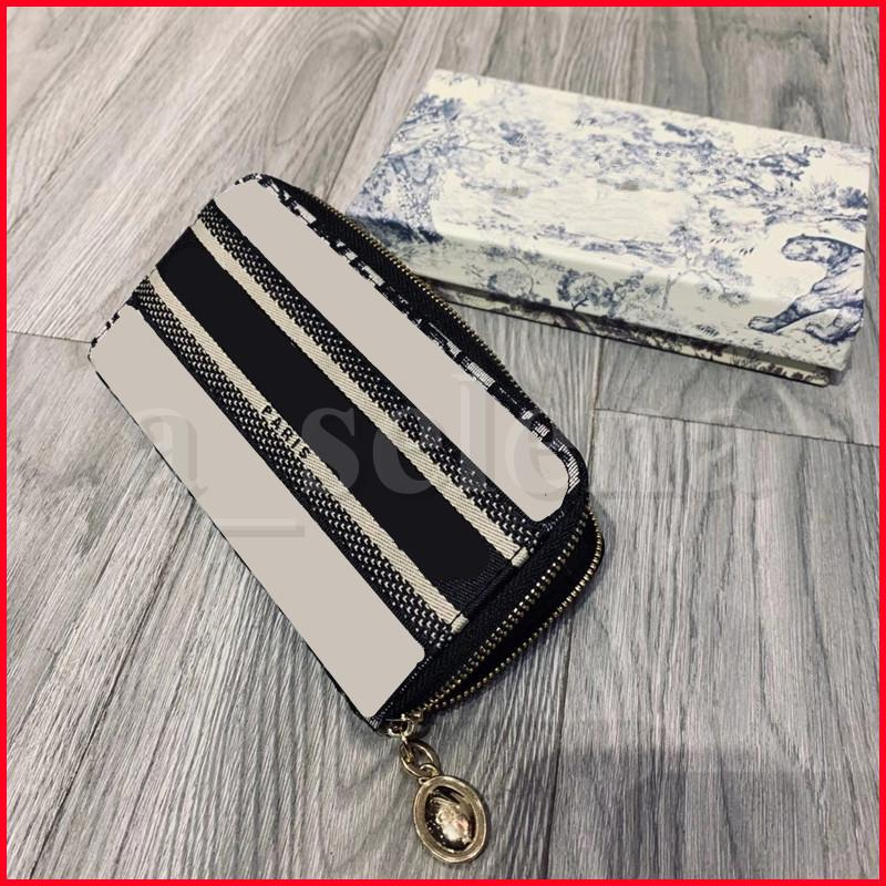 حقائب مستحضرات التجميل المحفظة حامل طويل قماش سستة المغلفة جيب محافظ داخل النساء البطاقة الجلدية الداخلية الداخلية