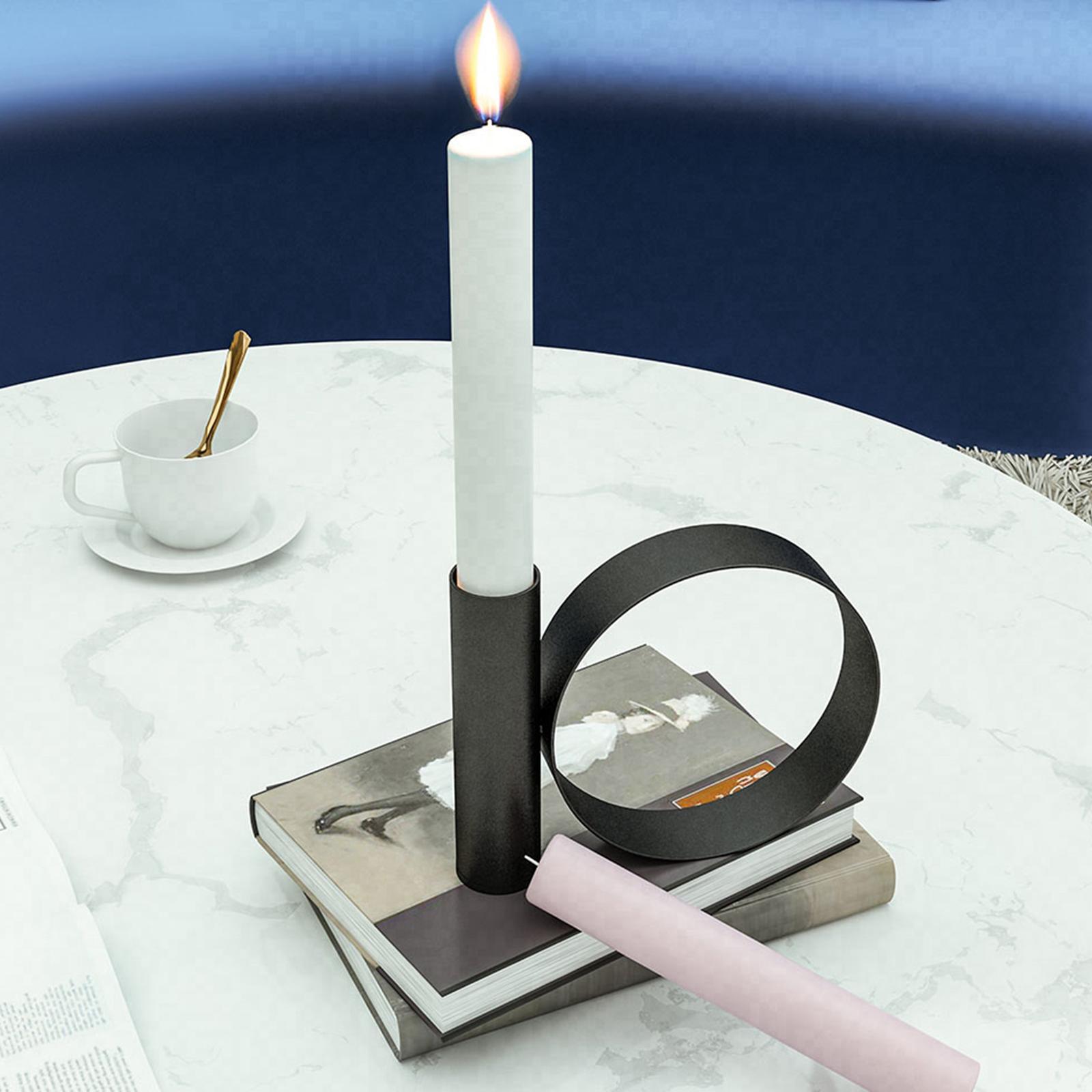 Северный стиль железа подсвечник геометрический держатель свечи свадебный фестиваль декор домашнего обеденного стола украшения