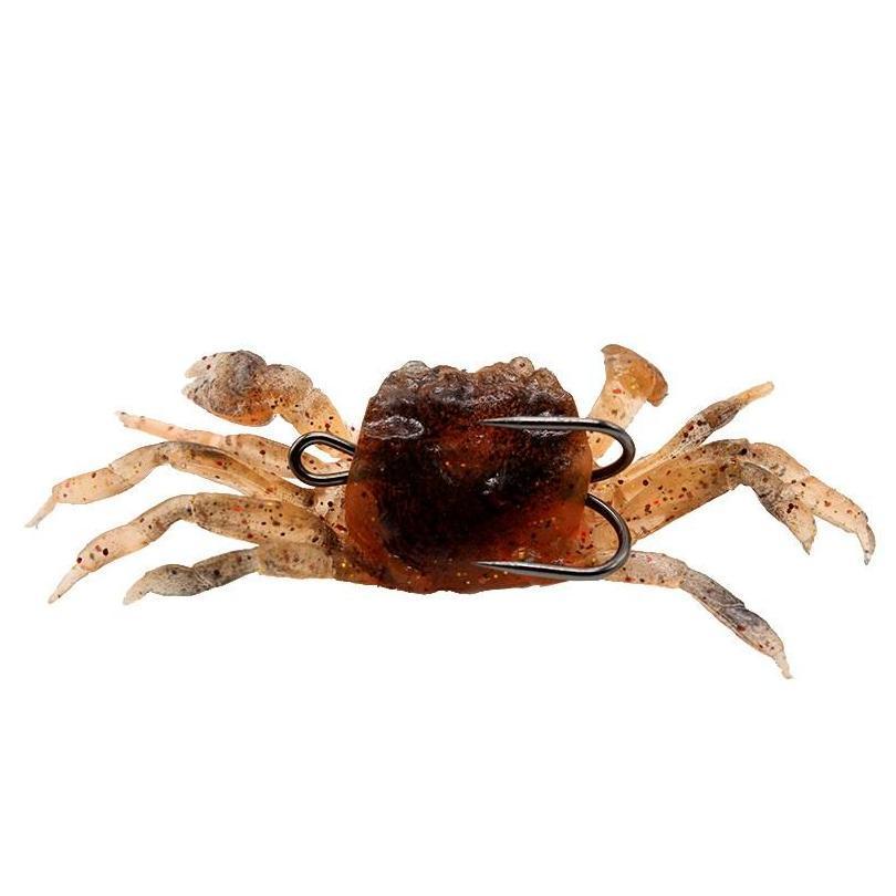 5pcs/lot 10cm 33.4g Crab Lead + Pvc Soft Baits & Lures 3 Color Mixed 10cm 33.4g Fishing Hooks Pesca Fishing Tackle jllICx warmslove