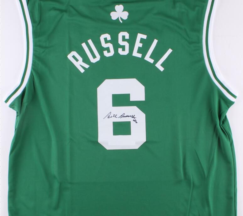 Russell imzalı imza imzalı imzalı oto jersey gömlek