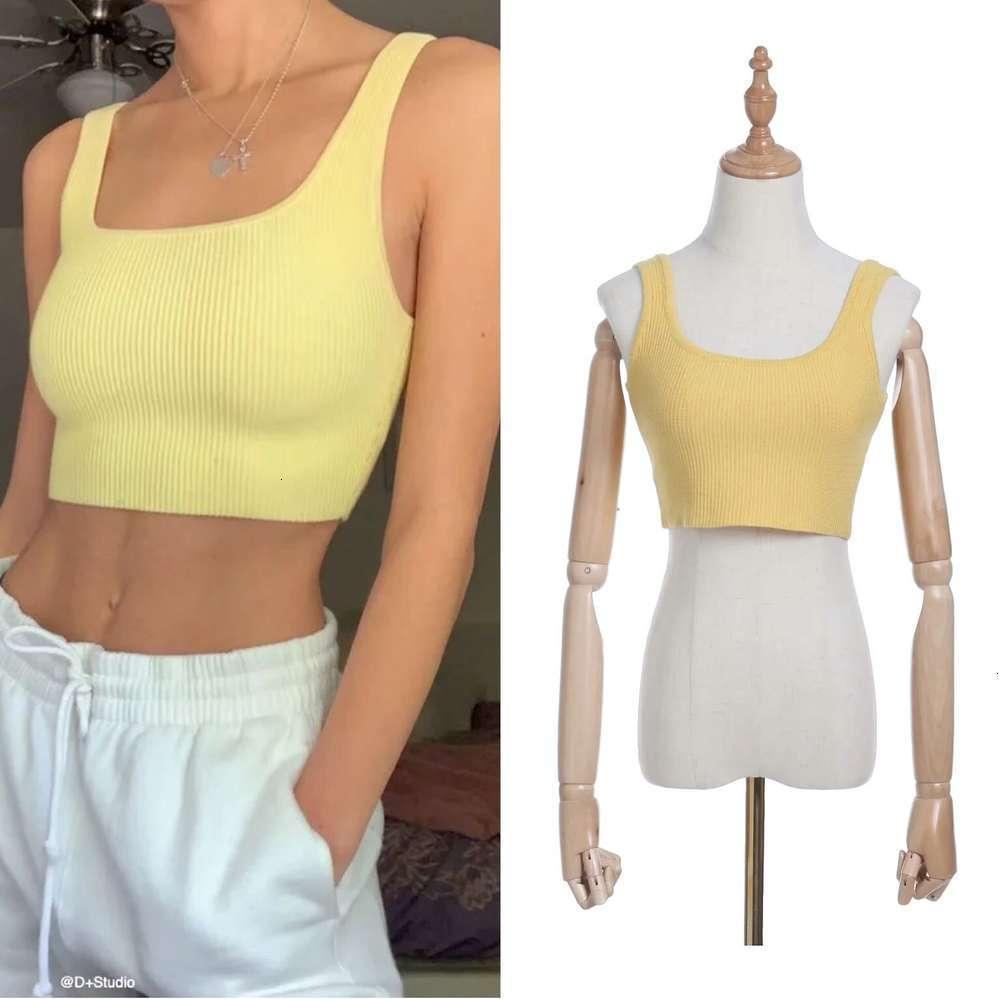 Tapa deportiva atractiva de verano elegante de las mujeres con tanques de la capa inferior Camis