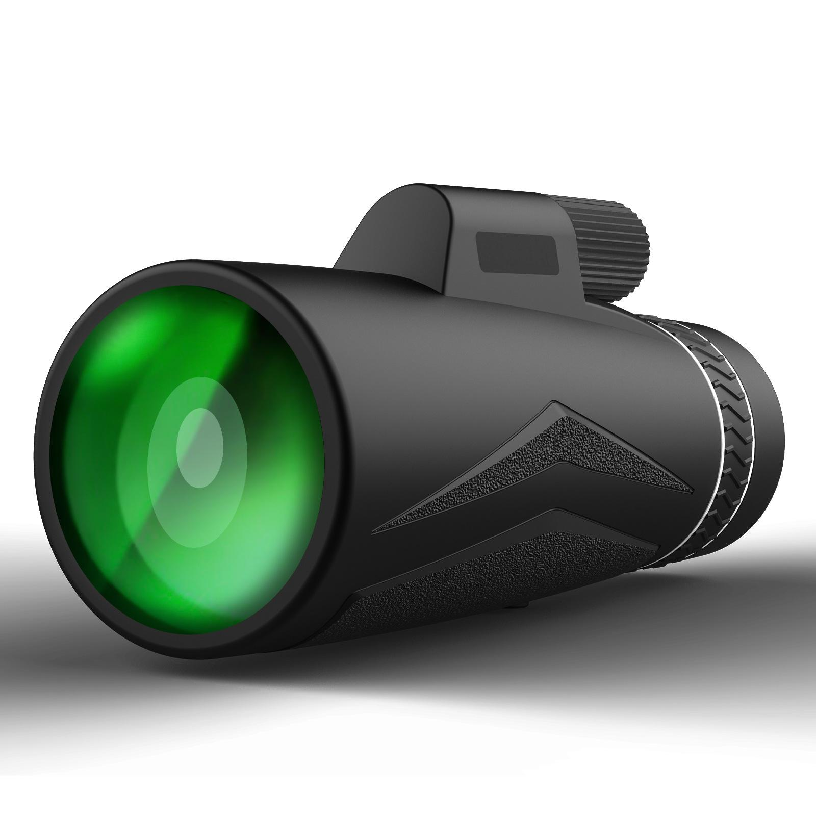 SunCore 12x42 Monocular Portable Noight Vision Teleskop Szerokie Pole Polowanie Ptak Oglądanie zakresu podróży Połącz obiektyw telefonu