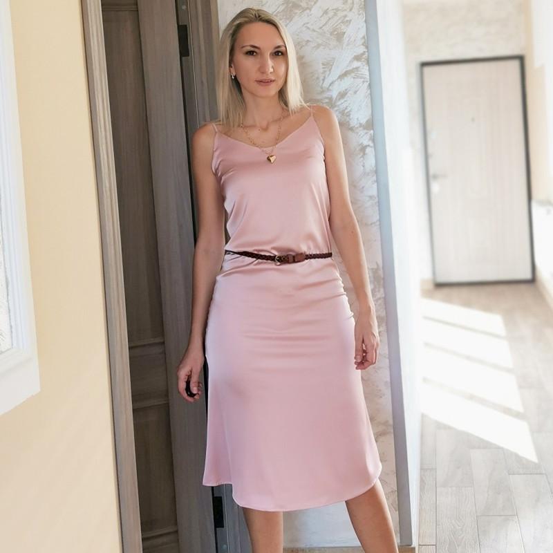 Seksi Saten V Yaka Spagetti Kayışı Elbise Kadın Kolsuz Backless Katı Renk Elbise Sonbahar Yeni Varış Zarif Parti Midi Elbise