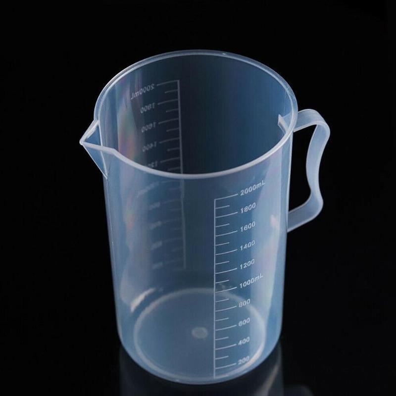 قياس كوب 250/500/1000/2000 مل صنبور مطبخ مختبر مع مقبض الطبخ السائل إبريق إبريق صب دائم تخفيض صنبور مطبخ أداة