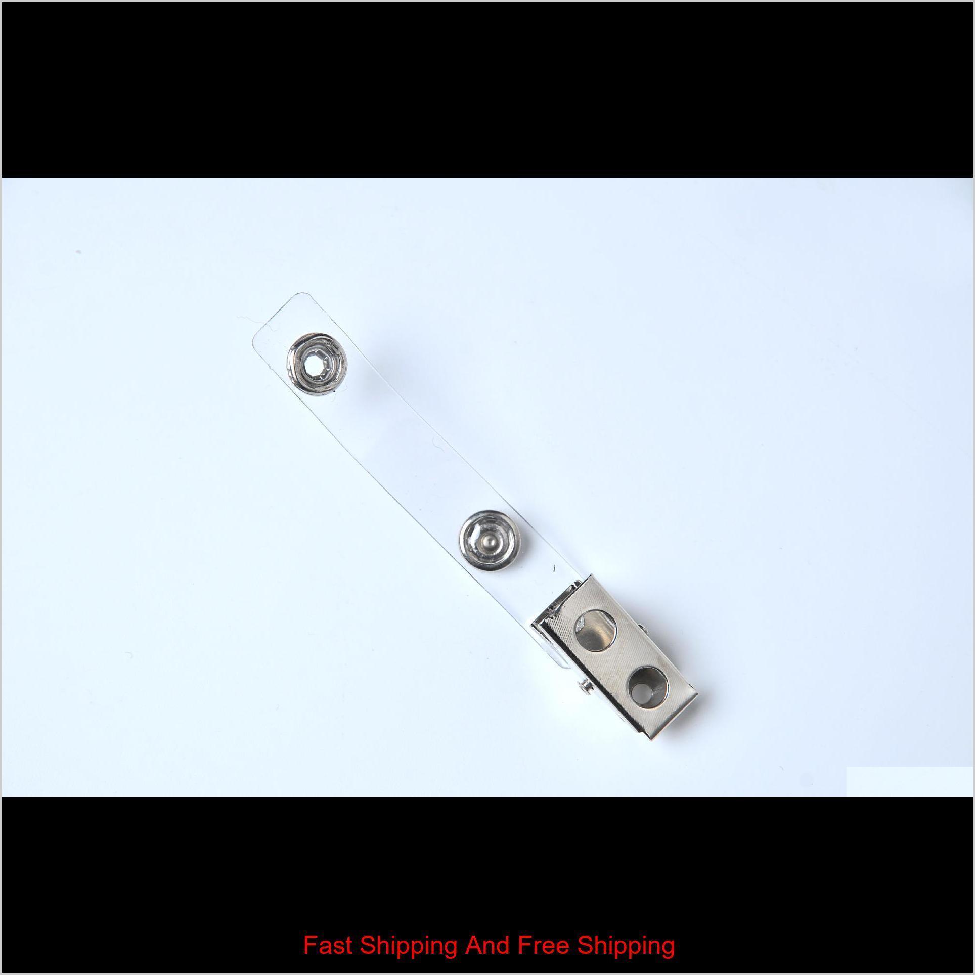 Badge Clip Scheda ID Certificato Portabiccio in plastica PVC Strap w Jllqlo Sport77777
