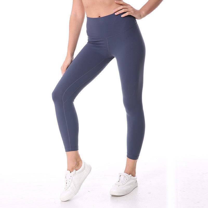 Nepoagym Mulheres Yoga Leggings Squat prova de ioga com bolso escondido esportes apertados umidade wicking fitness calça