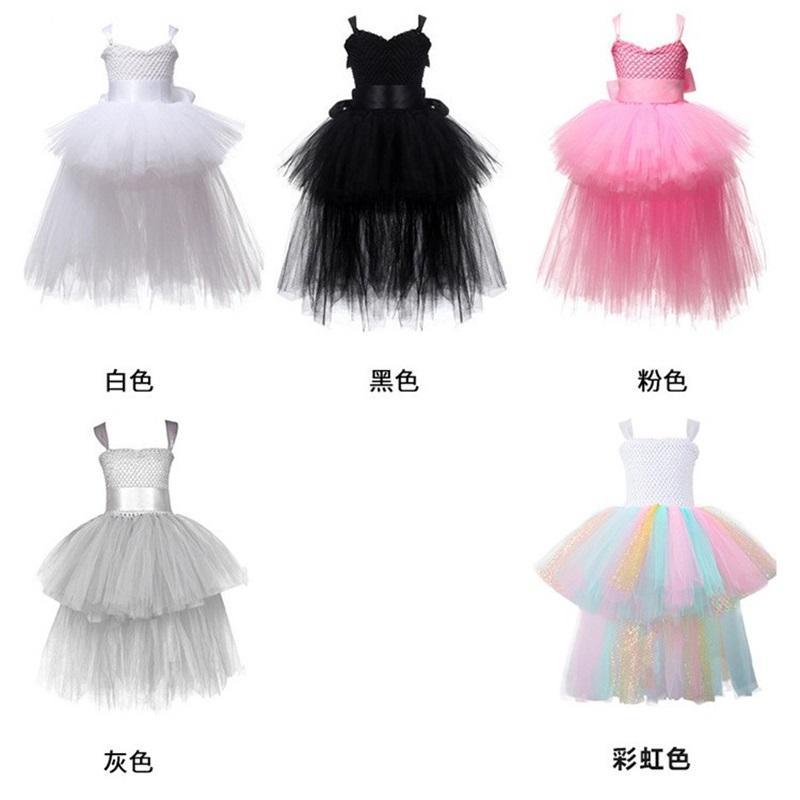 Halloween Weihnachten Prinzessin Kleider Baby Mädchen Ballkleid Tutu Spitze Kleider Kinder Brautkleider Party Kostüme für Kinder 277 U2