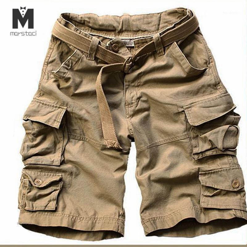 Мужские шорты 2021 летние мужчины армии зеленый камуфляж случайные камуфляжные колена мужские грузы короткие брюки бермуды гомбен с поясом1