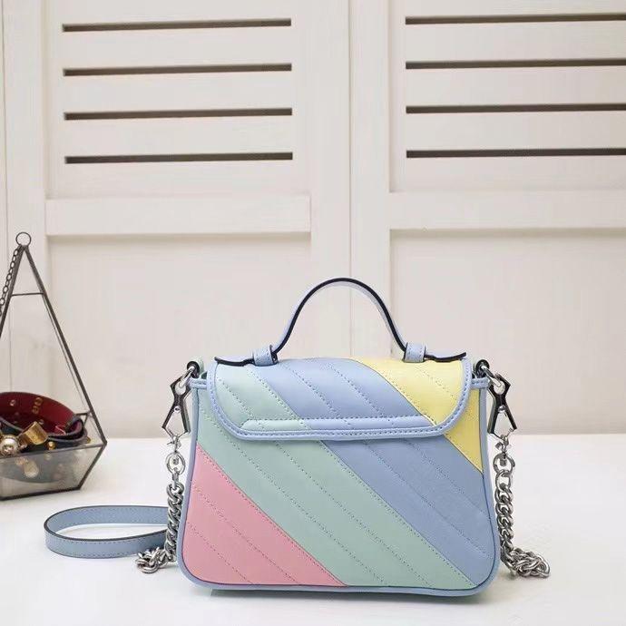 مصمم جودة عالية السيدات الأزياء حقيبة يد الرجعية التطريز حقيبة الكتف سلسلة رسول حقيبة يد حقيبة
