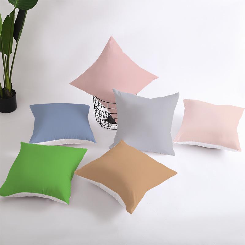 X190 Küçük Taze Kucaklama Yastık Dikey Şerit Süet Yastık Örtüsü Ev Eşyaları Hug Yastık Katı Renk Yastık Kapakları ASDF