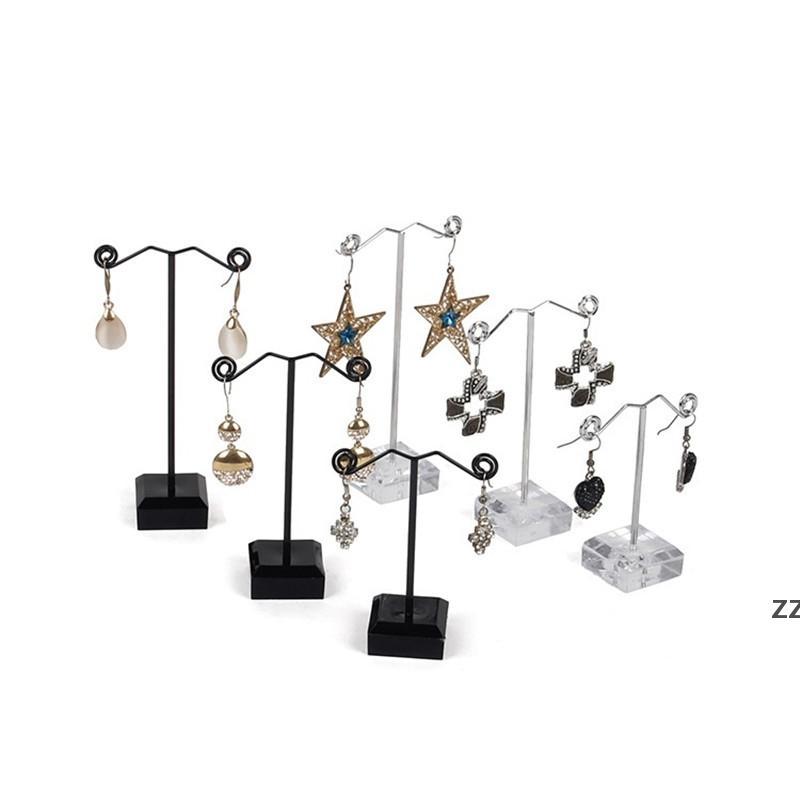 Gioielli Collana Orecchino Anello Display Stand Rack Plastic Jewelry Display Holder Rack Gioielli Srorage Organizer HWF7453
