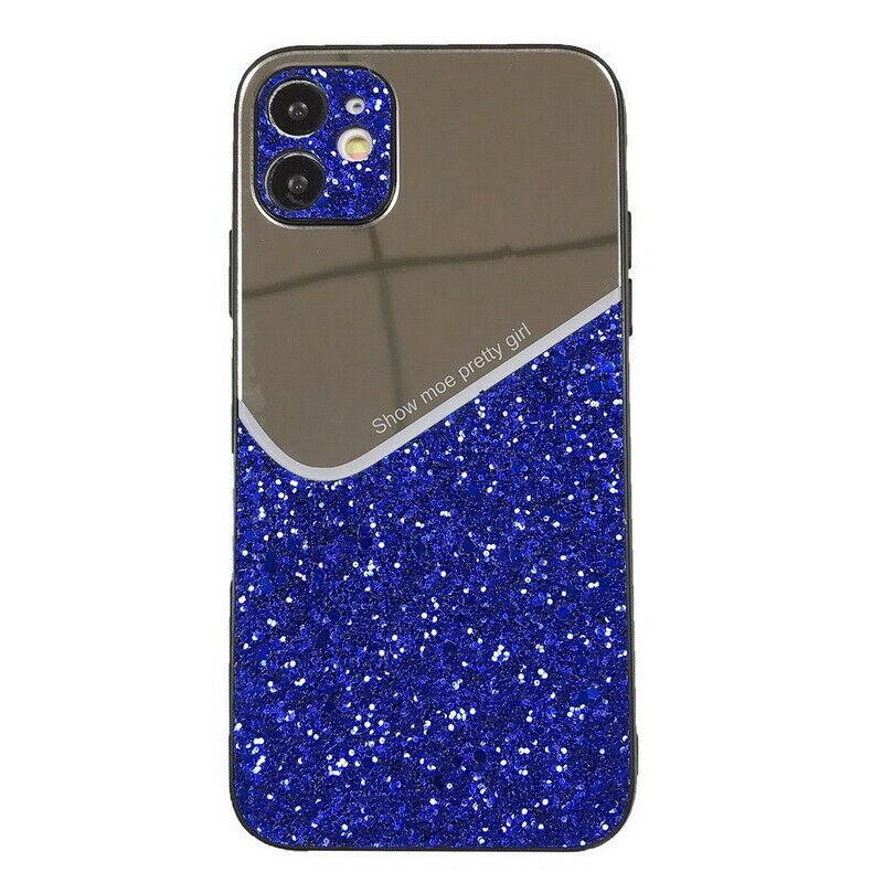 2021 New Makeup Mirror Glitter Mirror Phone Case Bling Case For iPhone 12 11 Pro Max XR XS 8 7 SE Mirror Glitter Phone Hard Cover