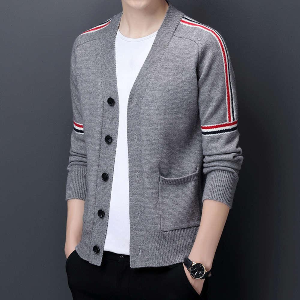 Nuevo abrigo de suéter de la moda de la moda del otoño del otoño de la lana de alta calidad
