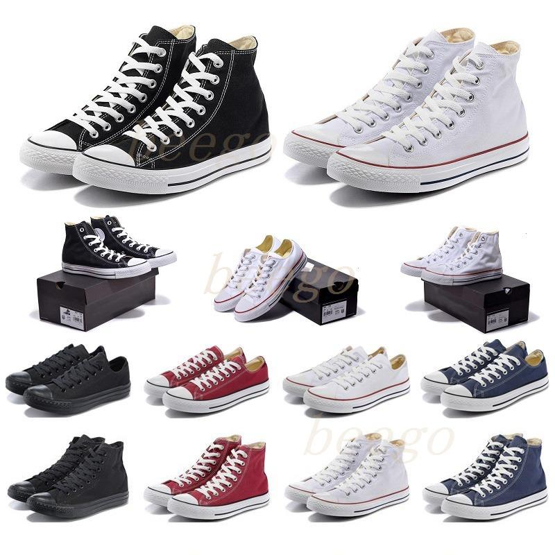 converses converse all stars Toile classique des années 1970s chaussures décontractées plate-forme hi reconstruite slam bourgeonnement triple noir blanc femme basse sport 36-44