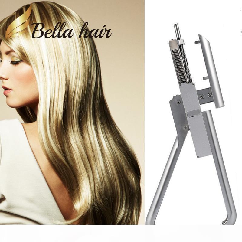 Équipement de salon professionnel pour des traitements d'extension de cheveux plus rapides 6D Perruque Connexion Pistolet Augmenter la longueur du volume avec la technologie Nano-Link
