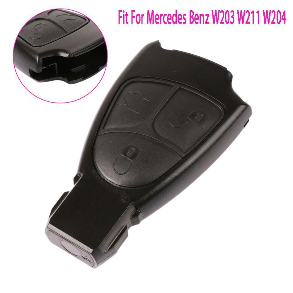 Новые 3 кнопки удаленные клавиши FOB замена для Mercedes Benz C E ML класс тревоги COVER COVER CAVEL Shell W203 W211 W204 # 278635