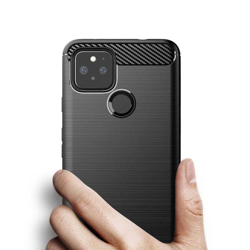 2021Carbon Fiber escovado textura telefone case para samsung nota 20 ultra iphone 12 pro max google pixel 4a 5g redmi 9 huawei p40