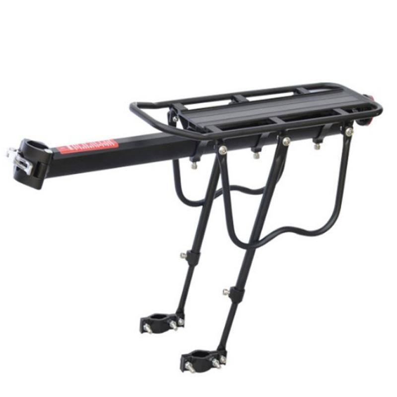 Mantequilla de bicicleta caliente 50kg Capacidad de la bicicleta Lanzamiento rápido Equipaje Asiento de carga Poster Portinier Portador Trasero Rack Fender Accesorios de bicicletas