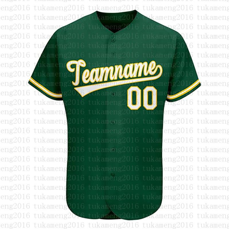 مخصص أوكلاند الجدة زر أسفل البيسبول الفانيلة شخصية مراوح القميص للرجال تيماني الاسم والعدد للهدايا مخيط الأخضر