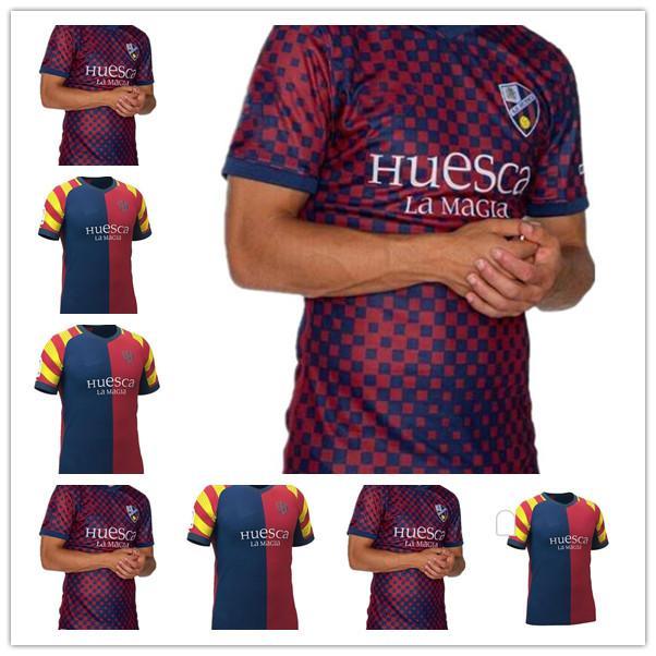 2021 2022 Huesca Especial Futebol Jerseys Dia de Aragão 20 Futbol Insua # 10 Cristo Okazaki Sergio Gomez Rabão Camisas de futebol Calcio
