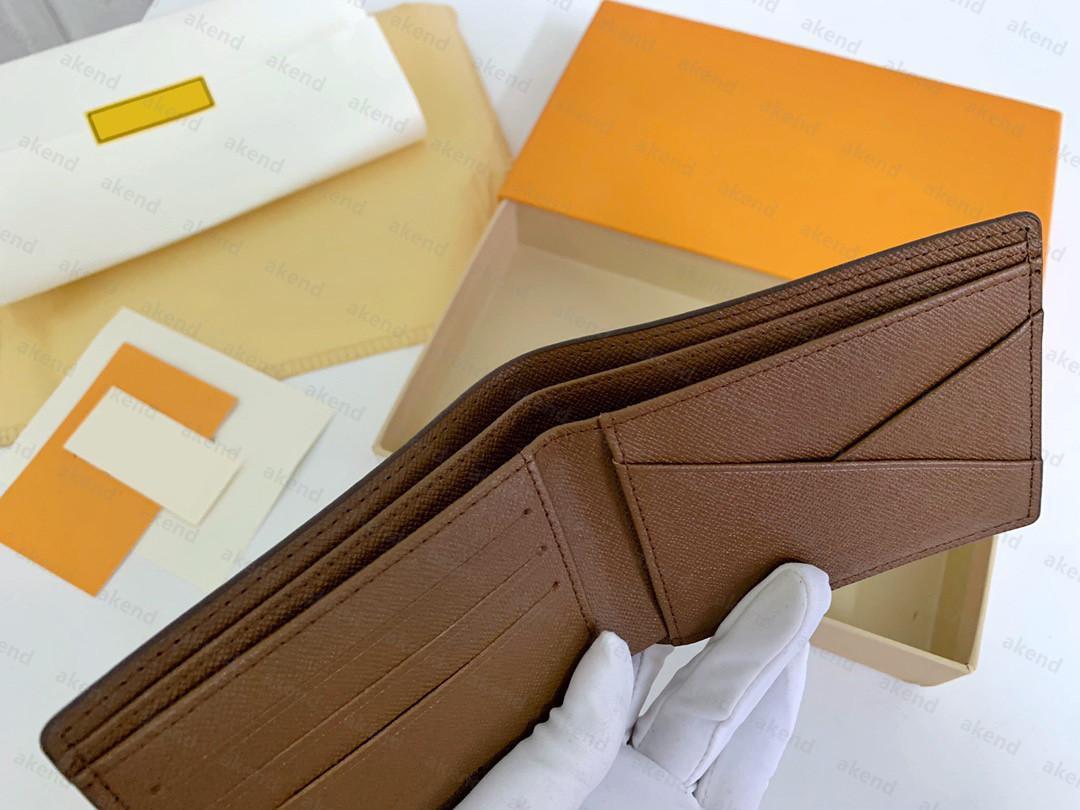 En Kaliteli Hakiki Deri Çanta Kart Sahibinin Lüks Tasarımcı Cüzdan Erkekler Ücretsiz kadın Sahipleri Birden Çok Para Siyah Kuzu Derisi Mini Cüzdan Anahtar Cep İç Slot