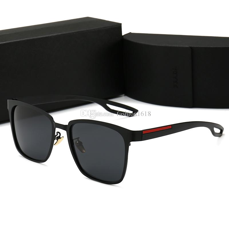 럭셔리 레트로 편광 망 여성 디자이너 선글라스 UV 400 Adumbral 브랜드 태양 안경 패션 안경 케이스와 함께