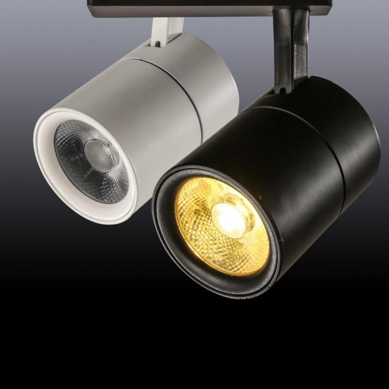 Track Lights Nordic Cylindrical COB LED Chip Beads Lighting Living Room Bedroom Home Decor El Store Light Fixtures Shop