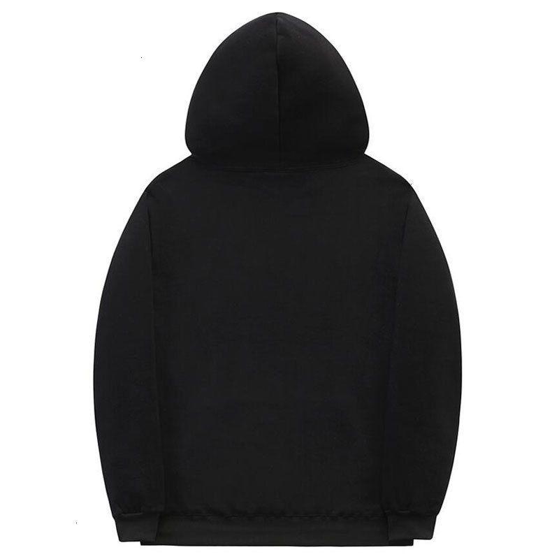 Vida dişi manşet hoodies streetwear backwoods kazak erkekler moda sonbahar kış hip hop hoodie kazak y201006mab2