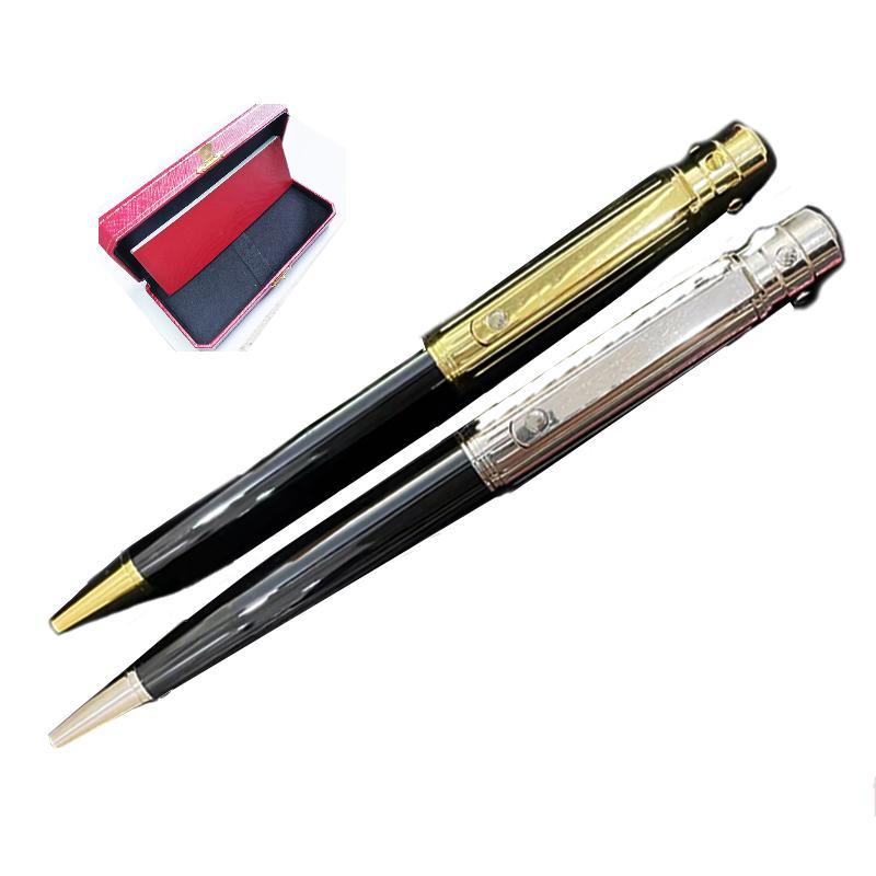 GiftPen Highs Quality Ballpoint Pen Business Signature Pens Metal Relleno de lujo Oficina de Lujo Papelería Regalo Clásico