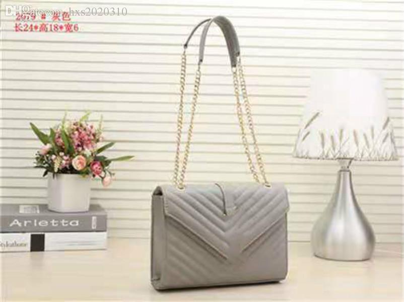 3597A Новые сумки роскоши дизайнерские сумки натуральные кожаные женские сумки цепные мешка