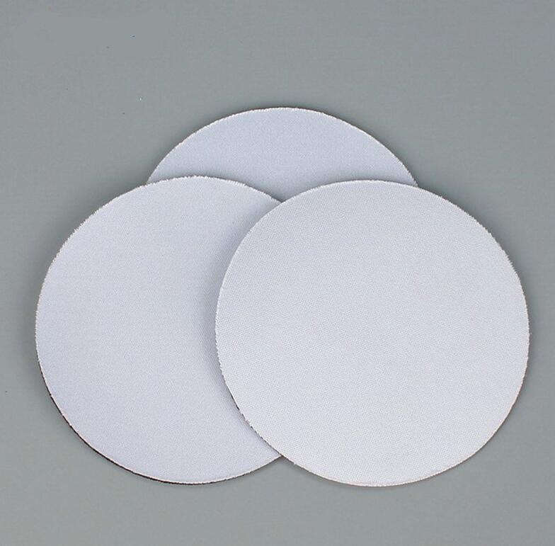 Сублимационные неопреновые пустые натуральные резиновые присталки Hot Transfer Price Круглая квадратная форма резиновые чашки коврики на заказ DIY расходные материалы WWA160