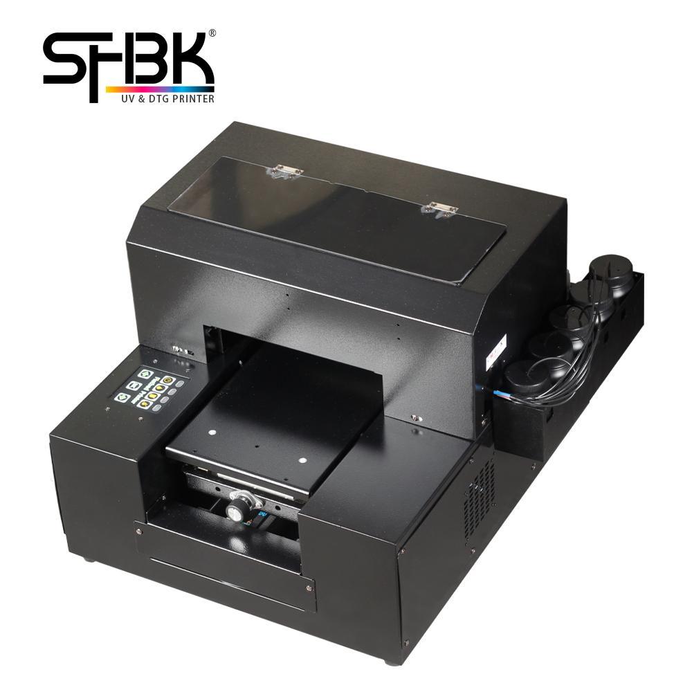 Fabrik Großhandel Vertrieb A4 UV-Drucker Das neueste multifunktionale Mobiltelefon Silikonhülle L800 L800 L805-Flachbett-T-Shirt Druckmaschine Modell: A4-6