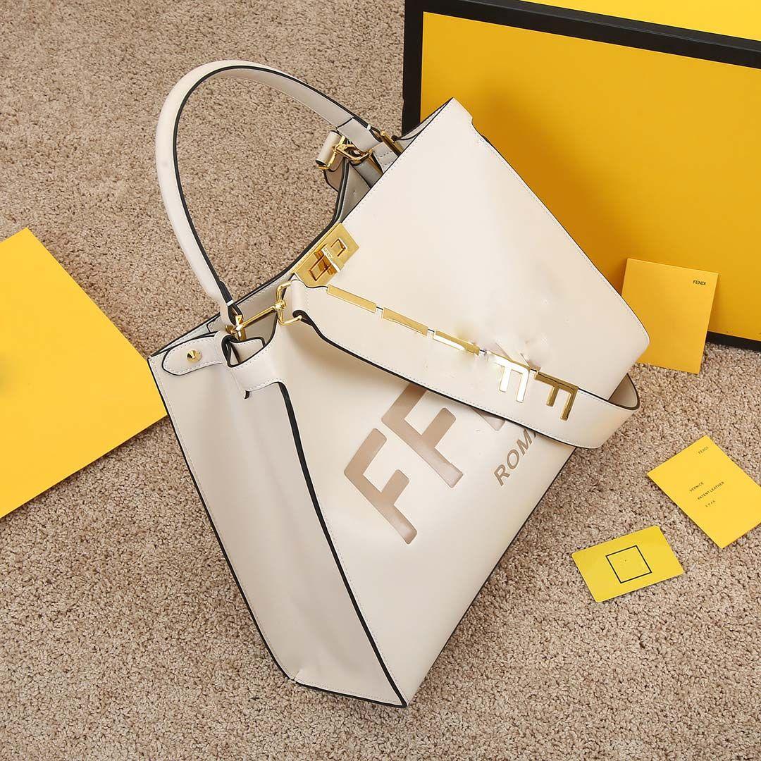 Frauen Strap Purse Designer Shopping Taschen Handtaschen Taschen 42cm Handtasche Kapazität Schulter Damen Z3306 Tasche Großes Leder Großes Peekaboo tot vfmq