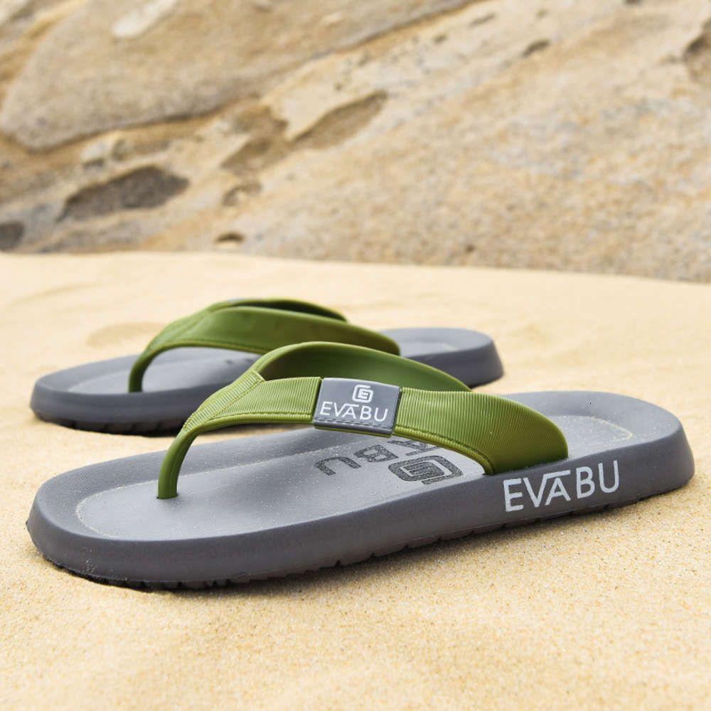 2021 yaz yeni flip flop, Kore versiyonu, büyük boy, klip ayak plaj sandalet, erkek 39-45