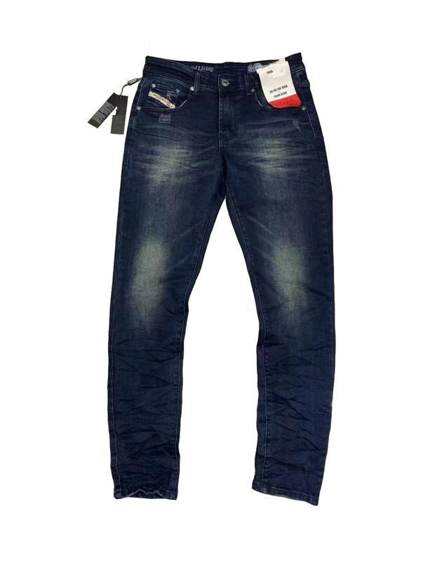 Летний Французский Сплошной Классический Стиль Стиль BULE QGB Мужские Джинсы Тонкие джинсы Джинсы Джинсовые Джинсовые Мужские Моды Дизайнер Джинсы Высочайшее Качество Размер 29-40