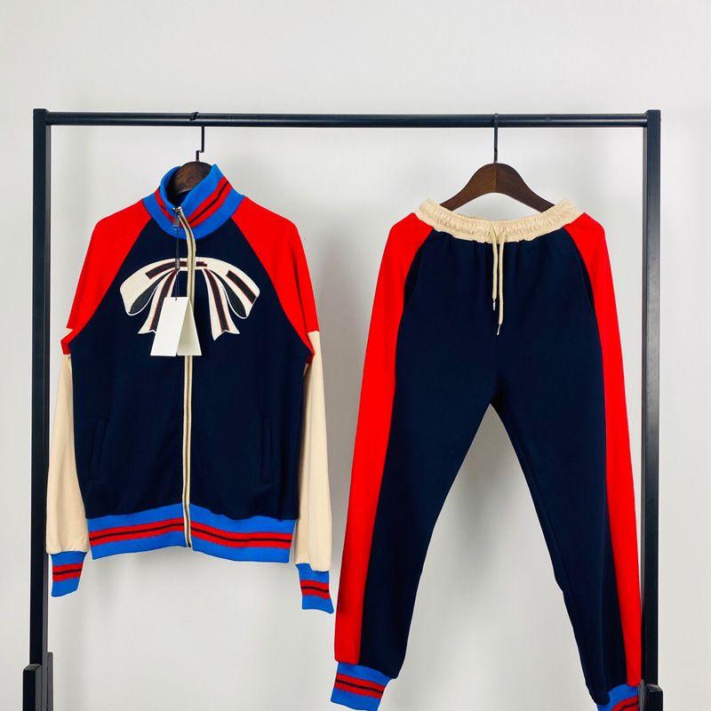 Uomo Designer Abbigliamento 2021 Mens Tracksuit Uomini Donne Giacca con cappuccio Coppia Stile Zipper Cardigan Giacche Pantaloni Vestita Tuta Tracksuits